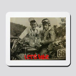 Let's Ride With #66 Mousepad