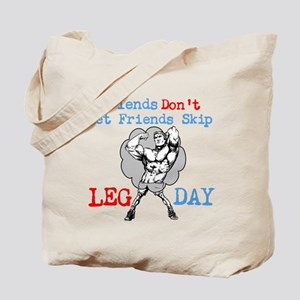 Don't Skip Legs Tote Bag