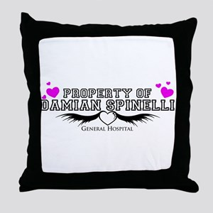 Property of Spinelli Throw Pillow