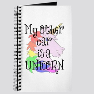 My Other Car Is A Unicorn Journal