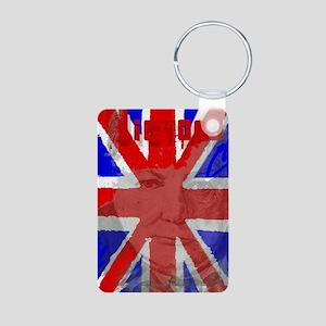 Churchill Union Jack Keychains