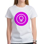 Female Symbol Pink Women's T-Shirt