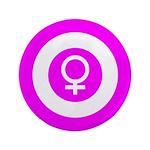 Female Symbol Pink 3.5