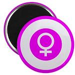 Female Symbol Pink Magnet