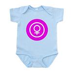 Female Symbol Pink Infant Bodysuit