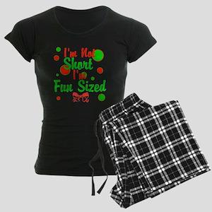 Im Not Short Im Fun Sized Women's Dark Pajamas