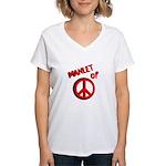 Manlet Women's V-Neck T-Shirt