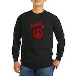 Manlet Long Sleeve Dark T-Shirt