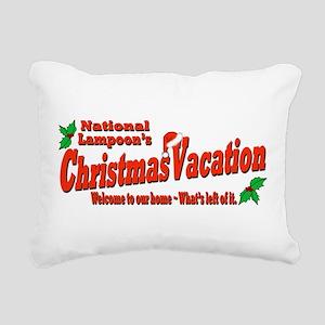 Griswold home Rectangular Canvas Pillow