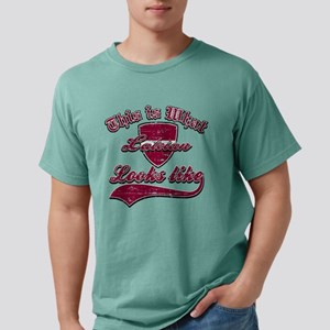 latvian Mens Comfort Colors Shirt