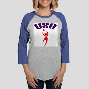 USABYCSPORTS2 Womens Baseball Tee