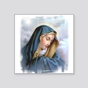 "Our Lady of Sorrows Square Sticker 3"" x 3"""