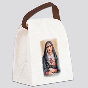 Sorrowful Mother Canvas Lunch Bag