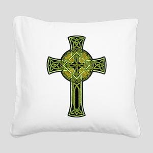 CelticCross Square Canvas Pillow