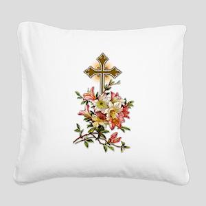 christian-crosses-1 Square Canvas Pillow