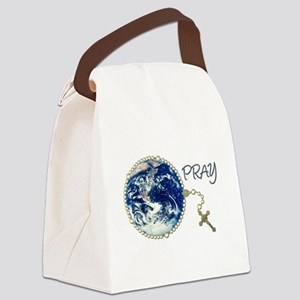 Rosary4World_transp Canvas Lunch Bag