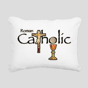 Proud to be Catholic Rectangular Canvas Pillow
