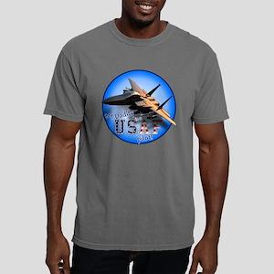 F-15E-mydaddy-circle Mens Comfort Colors Shirt