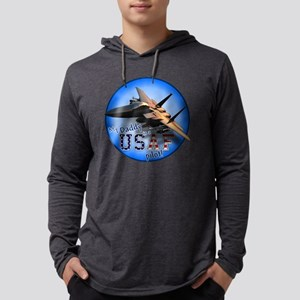 F-15E-mydaddy-circle Mens Hooded Shirt