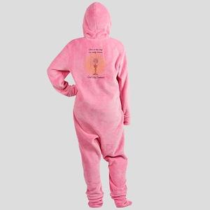 eucharistic5x8_journal Footed Pajamas