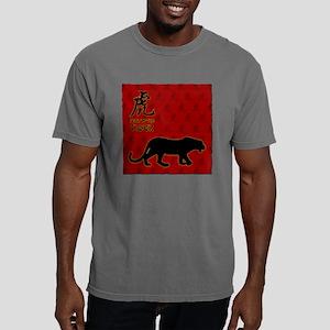 tiger_10x10_red Mens Comfort Colors Shirt