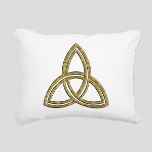 Trinity_symbol Rectangular Canvas Pillow