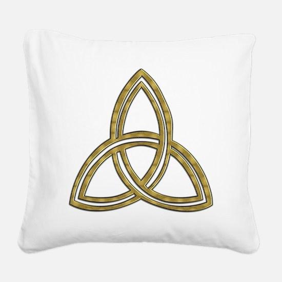 Trinity_symbol.jpg Square Canvas Pillow