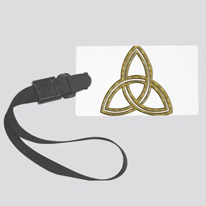 Trinity_symbol Large Luggage Tag