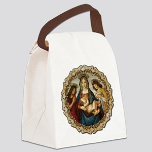 Mary and Baby Jesus Canvas Lunch Bag