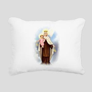 Mt Carmel Rectangular Canvas Pillow