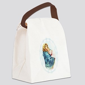Madonna of the Streets Canvas Lunch Bag