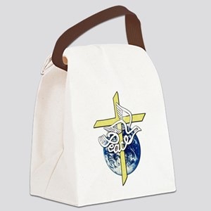World_Peace Canvas Lunch Bag