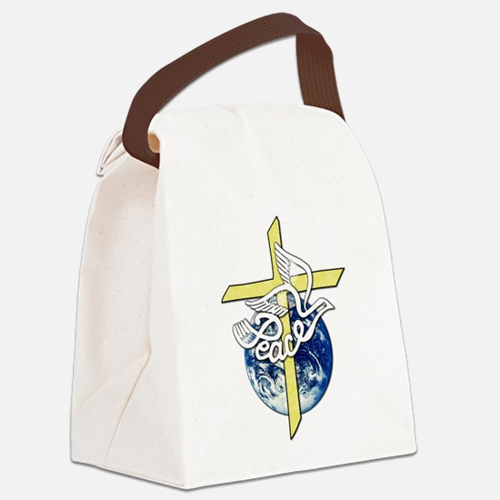 World_Peace.png Canvas Lunch Bag