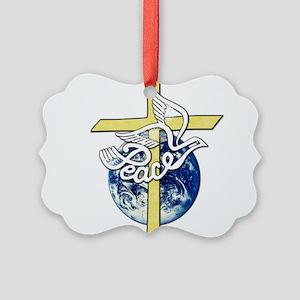 World_Peace Picture Ornament