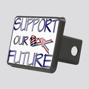 SupportOurFuture Rectangular Hitch Cover