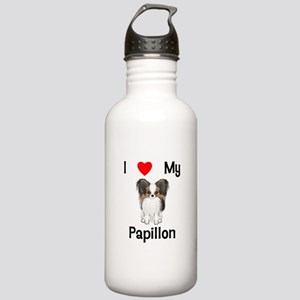 I love my Papillon (picture) Stainless Water Bottl