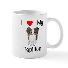 I love my Papillon (picture) Mug