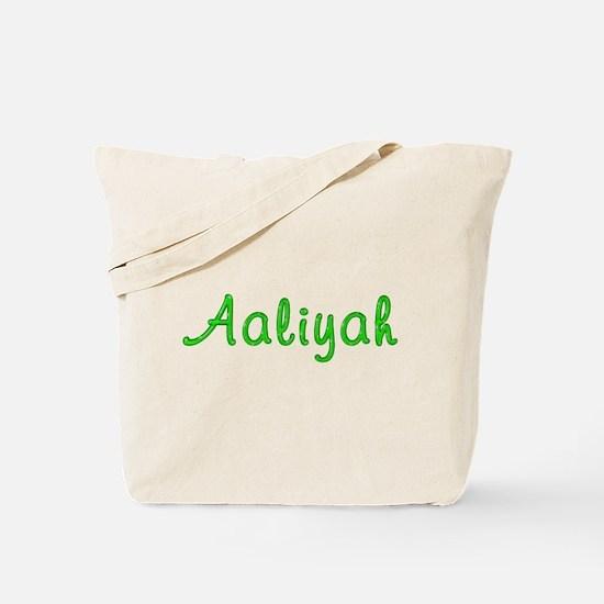 Aaliyah Glitter Gel Tote Bag