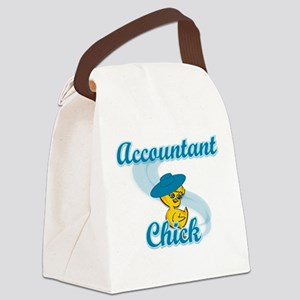 Accountant Chick #3 Canvas Lunch Bag