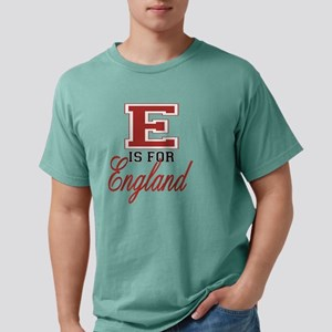 E is for England black.p Mens Comfort Colors Shirt
