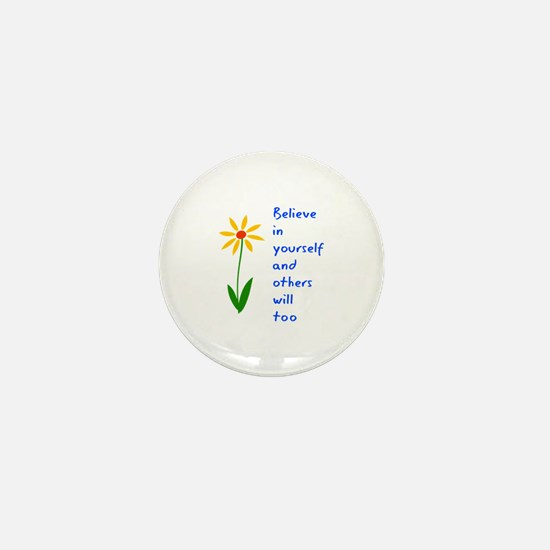 Believe in Yourself V3 Mini Button