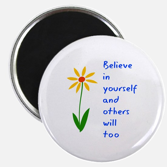 """Believe in Yourself V3 2.25"""" Magnet (10 pack)"""
