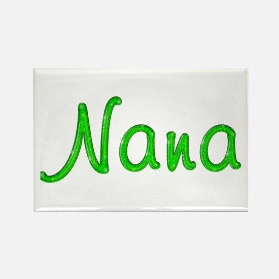 Nana Glitter Gel Rectangle Magnet
