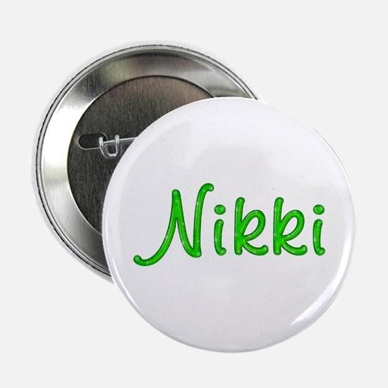 Nikki Glitter Gel Button