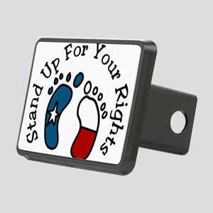 Stand Up Rectangular Hitch Cover