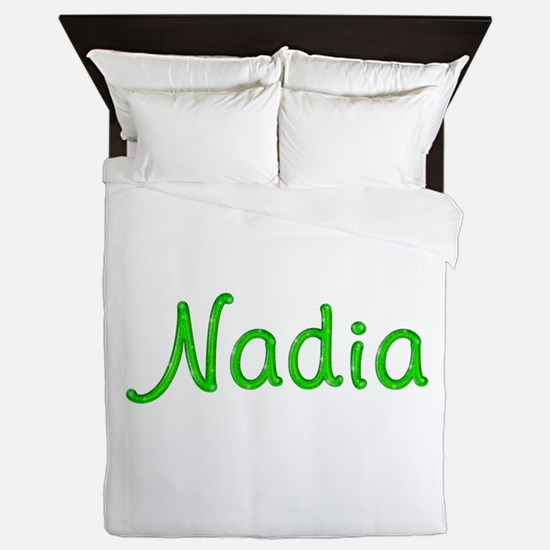 Nadia Glitter Gel Queen Duvet