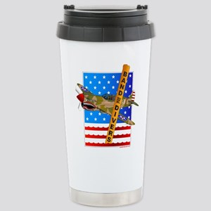 Military Scuba Fighters Stainless Steel Travel Mug