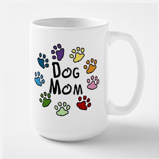 Dog Mom Large Mug