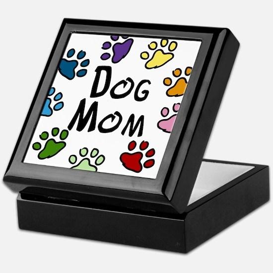 Dog Mom Keepsake Box