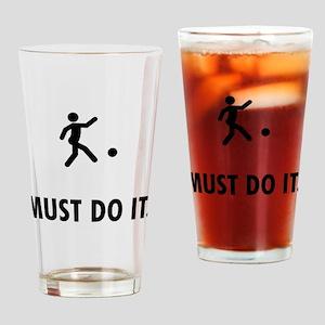 Kickball Drinking Glass